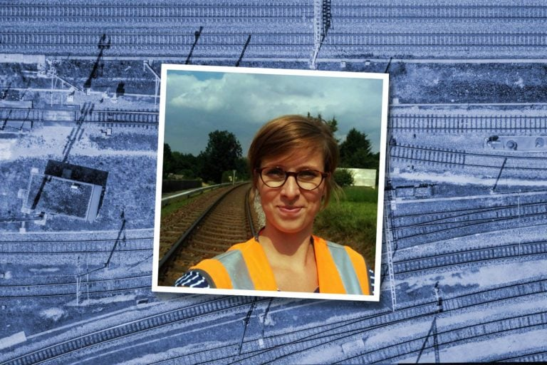 Juliane Thiel – Bauingenieurin bei Eiffage Rail