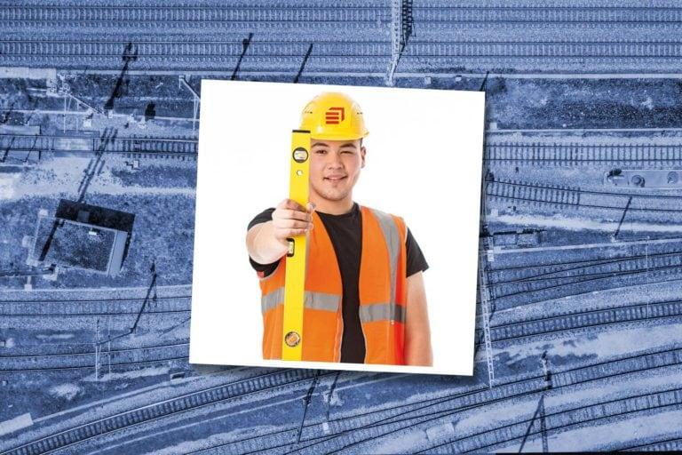 Tekin Demirtas – Auszubildender als Gleisbauer bei Eiffage Rail